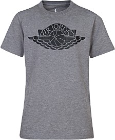 Jordan Fly Wings Graphic-Print Cotton T-Shirt, Big Boys