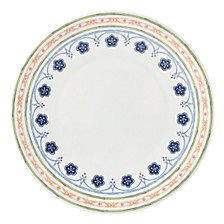Northern Blossom Orange Border Melamine Dinner Plate