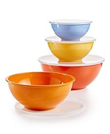 La Dolce Vita Melamine 8-Pc. Bowl & Lid Set, Created for Macy's