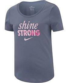 Nike Big Girls Strong-Print Cotton T-Shirt