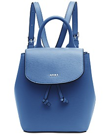 DKNY Lex Leather Backpack, Created for Macy's