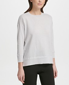 DKNY Lightweight Shimmer Sweater