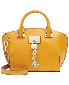 DKNY Elissa Small Leather Crossbody, Created for Macy's