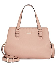 68bc54cb7c kate spade new york Jackson Street Small Octavia Leather Satchel