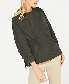 Weekend Max Mara Treviso Gathered-Waist Jacket