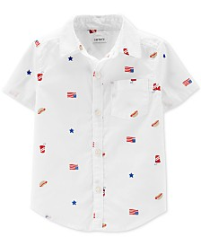 Carter's Toddler Boys Woven Cotton Shirt