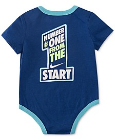 Nike Baby Boys Number One Graphic Bodysuit