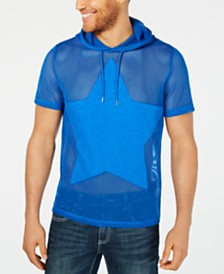 I.N.C. Men's Star Hooded T-Shirt, Created for Macy's