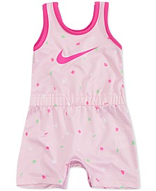 Nike Baby Girls Printed Sports Romper