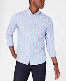 Tommy Hilfiger Men's Welbeck Striped Shirt