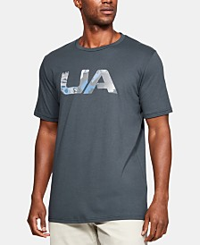 Under Armour Men's Printed-Logo T-Shirt