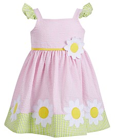 Blueberi Boulevard Baby Girls Sunflower Dress