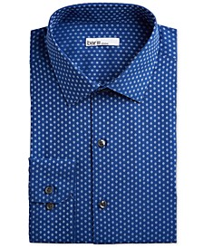 Men's Classic/Regular Fit Stretch Daisy Dobby Dress Shirt, Created for Macy's