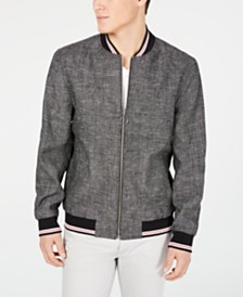 I.N.C. Men's Linen Chambray Jacket, Created for Macy's