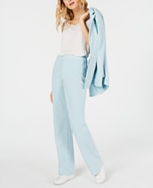 I.N.C. Petite Straight-Leg Suit Pants, Created for Macy's