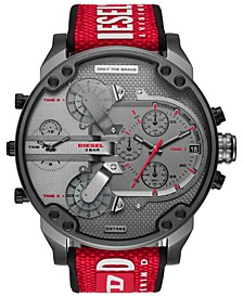 LIMITED EDITION  Men's Chronograph Mr. Daddy 2.0 Red Nylon Strap Watch 57mm, Created for Macy's