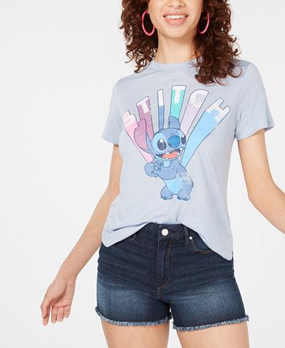 Modern Lux Juniors' Stitch Graphic-Print T-Shirt