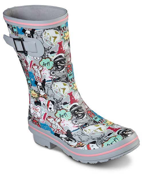 579310f8b5cc1 Skechers Women's Bobs for Dogs Rain Check Boots from Finish Line ...