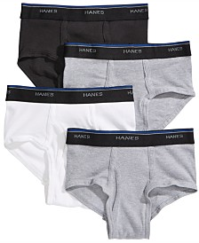 Hanes Big Boys 4-Pack Briefs