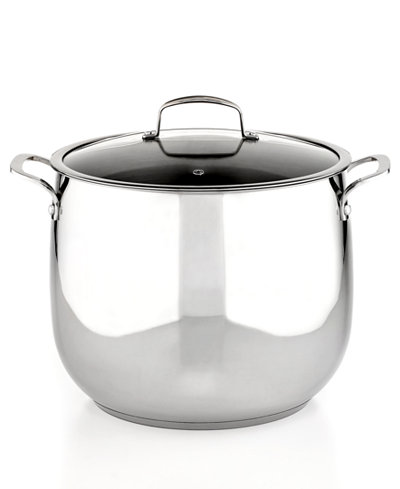 Belgique Stainless Steel 16 Qt. Stockpot, Only at