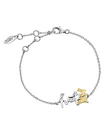Beatrix Potter Sterling Silver Two-Tone Bracelet
