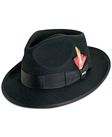 Dorfman Pacific Men's Wool Snap-Brim Fedora