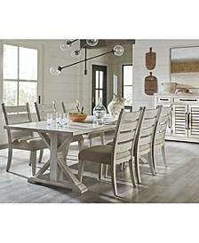 Trisha Yearwood Home Coming Dining 7-Pc. Set (Table & 6 Side Chairs)