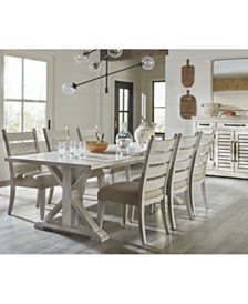 Homecoming Dining Furniture, 7-Pc. Set (Table & 6 Side Chairs)