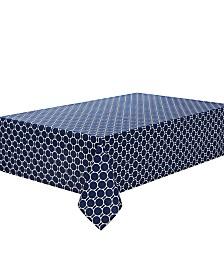 "C. Wonder Boardwalk Dot Navy 84"" Tablecloth"