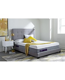 "Purple .4  13"" Cushion Firm Mattress - Queen"