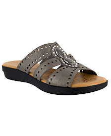 Easy Street Vara Jeweled Sandals