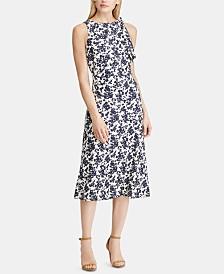 Lauren Ralph Lauren Petite Floral Jersey Midi Dress