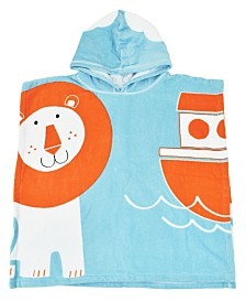 Splash About Baby and Toddler Hooded  Poncho Towel Noah's Ark