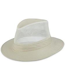 Men's Washed Twill Mesh Safari Hat