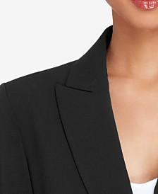 Tahari ASL Petite Peak-Collar Blazer