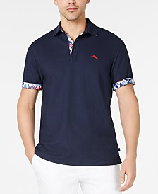 Tommy Bahama Men's Limited Edition 5 O'Clock IslandZone Piqué Polo, Created for Macy's