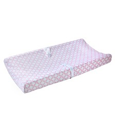 Carter's Changing Pad Cover Plush Velboa - Pink Trellis