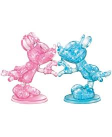 3D Crystal Puzzle-Disney Minnie Mickey - 68 Pcs