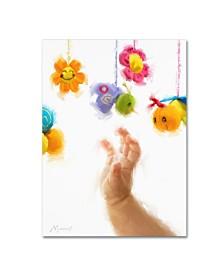"The Macneil Studio 'Baby Mobile' Canvas Art - 32"" x 24"" x 2"""