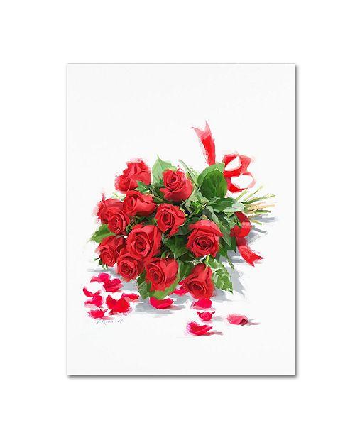 "Trademark Global The Macneil Studio 'Red Roses' Canvas Art - 24"" x 18"" x 2"""