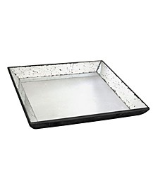 Waverly Mirrored Square Tray, Medium