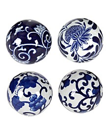 Aline Decorative Orbs, Set of 4