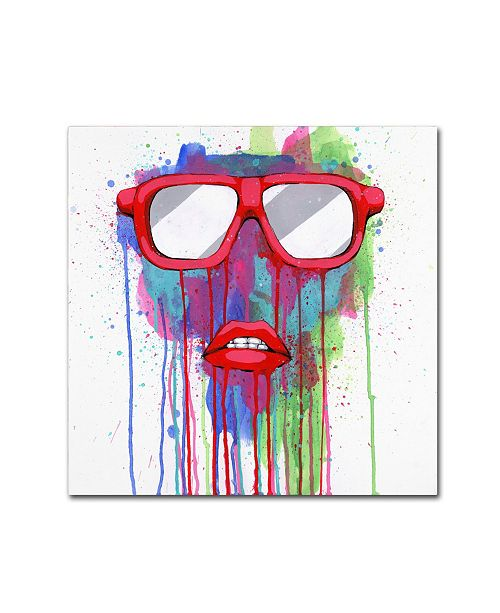 "Trademark Global Ric Stultz 'Can't Hide The Feelin' Canvas Art - 35"" x 35"" x 2"""