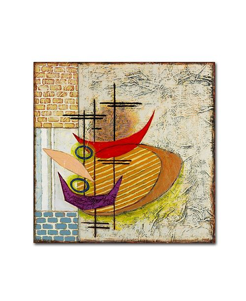 "Trademark Global Rachel Paxton 'Sterling Cooper 1' Canvas Art - 18"" x 18"" x 2"""