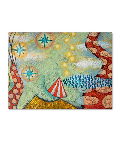"Trademark Global Rachel Paxton 'Balance' Canvas Art - 24"" x 18"" x 2"""