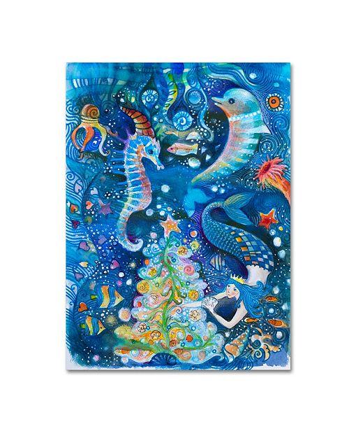 "Trademark Global Oxana Ziaka 'In the Sea' Canvas Art - 47"" x 35"" x 2"""