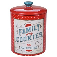 Certified International Country Fresh Biscuit Jar