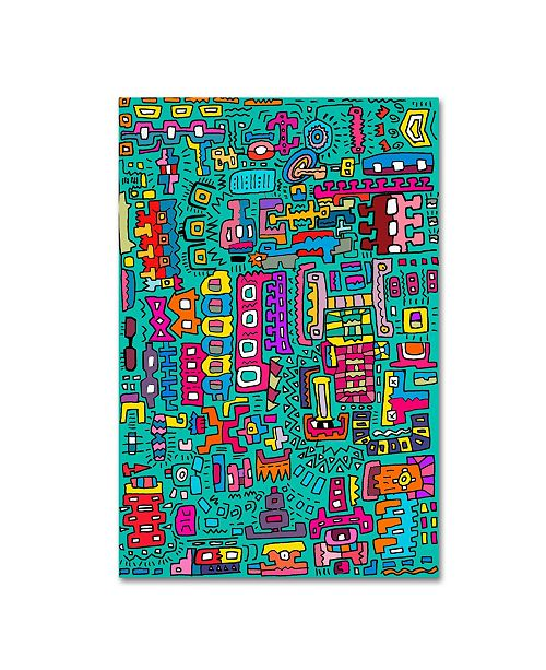 """Trademark Global Miguel Balbas 'Many Things' Canvas Art - 47"""" x 30"""" x 2"""""""
