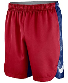 Nike Men's Chicago Cubs AC Dry Emboss Shorts