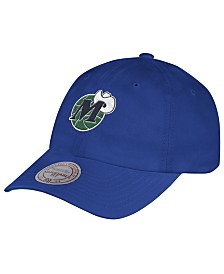 Mitchell & Ness Dallas Mavericks Hardwood Classic Basic Slouch Cap